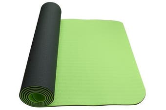 Eco Friendly Non Slip  Yoga Mat  Fitness Carpet Gymnastics Green - 4 Colours
