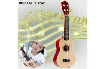 "21"" Soprano Ukulele Basswood Acoustic Nylon 4 Strings Ukulele Bass Guitar Musical Instrument for beginners or Basic players"