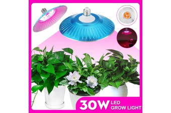 E27 30W LED Grow Lamp Plant Light Full Spectrum Growing Lights Led for Plants Growth Phyto Lamp AC 220V