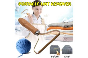 Manual Portable Lint Remover Pilling Machine Wooden Cashmere Sweater Fabric Clothing Fuzz Care