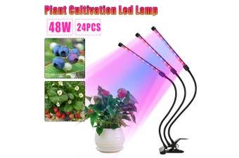 48W LED Grow Light Panel Lamp Full Spectrum Hydroponic Plant Growing