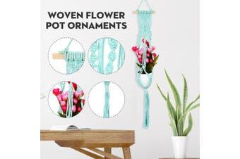 Home Decor Bohemian Hanging Flower Pot Basket Pendant Restaurant Wall Decoration
