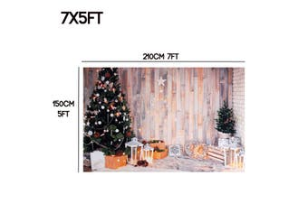 5x3ft/7x5ft Christmas Studio Photography Background Photo Picture Child Backdrop(210x150cm 7x5ft)
