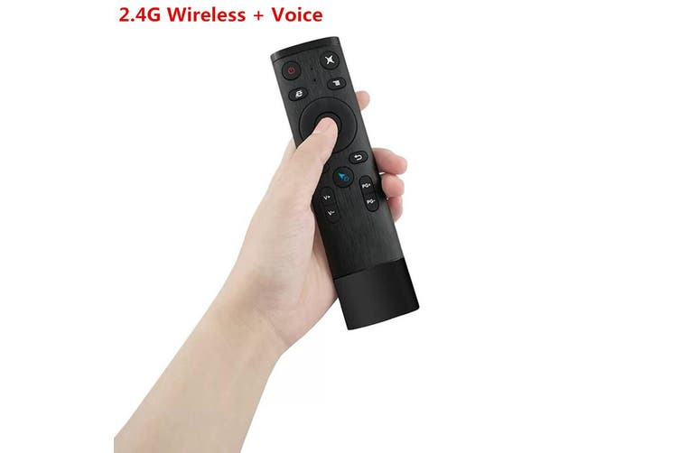 Q5 Bluetooth/2.4GHz WIFI Voice Remote Control Air Mouse With USB Receiver For Smart TV Android Box - Type 1(1)