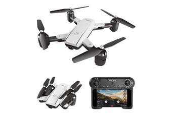 RC Helicopter Foldable Drone WIFI FPV With ESC Camera 4K HD 1080P RC Drone Four-Axis Aerial Remote Control Quadcopter Aircraft(black)