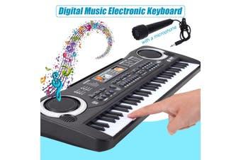 [53.5x17x5cm] 61 Key Digital Music Electronic Keyboard Piano Early Educational Tool Gift for Kids
