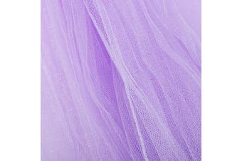 Princess Lace Dome Insect Bed Canopy Netting Curtain Ceiling-Mounted Mosquito Net Free Installation Home Dome Foldable Tent Bed Canopy Comfortable Sleep(purple)
