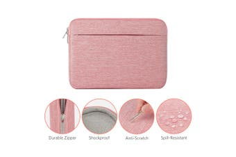 ATailorBird Laptop Sleeve Bag Cover 13-15.6 Inch For MacBook Air/ MacBook Pro Retina iPad Pro 2017/ Chromebook Tablet Notebook Cover Laptop Protective Case(pink,13.3 inch)