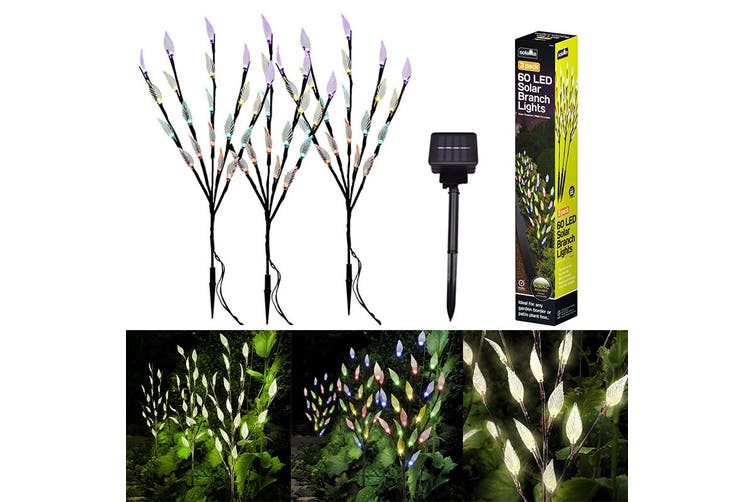 Dick Smith Kcasa Solar Garden Decorative Lights Outdoor New Led Solar Powered Faux Landscape Lights For Pathway Yard Patio Deck Walkway Fence Christmas Decoration Multicolor Other Outdoor Lighting