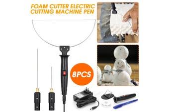 18W 3 in 1 Foam Cutter Electric Cutting Machine Pen Crafts Tools Kit 100-240V