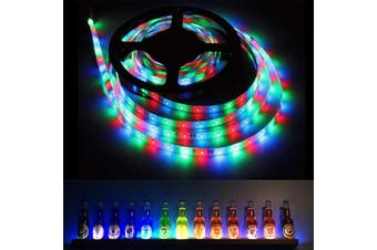 5m 10m USB LED Strip Lights IP65 5050 RGB TV LED Strip With Remote Controller Y(Without remote 1cm)