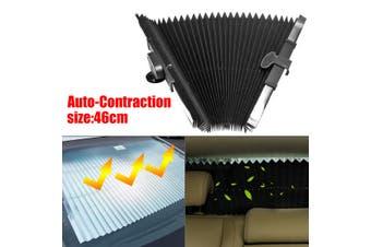 Car Retractable Windshield Sun Shade Visor Folding Auto Block Cover Front Window-Types:46cm single line (B Type 46cm)