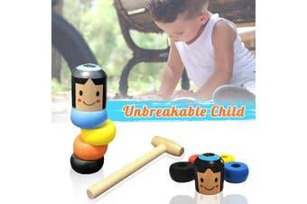 Halloween Unbreakable Wooden Magic Puppet Magic Daruma Kid's Toys Supply Gift