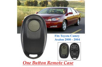 One Button Remote Key Fob Case Shell Replace For Toyota Camry 2000-2004