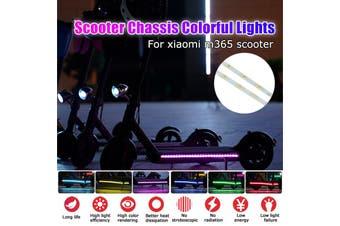 LED Strip Flashlight Lamp Night Light For Xiaomi M365/M187/Pro Ninebot ES1-4 Scooter