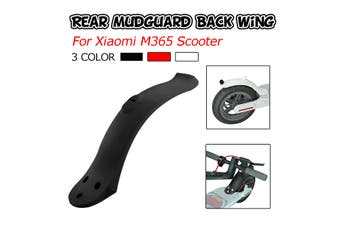 Rear Fender Replacement For Xiaomi Mijia M365/M187/PRO Scooter Mudguard(black)