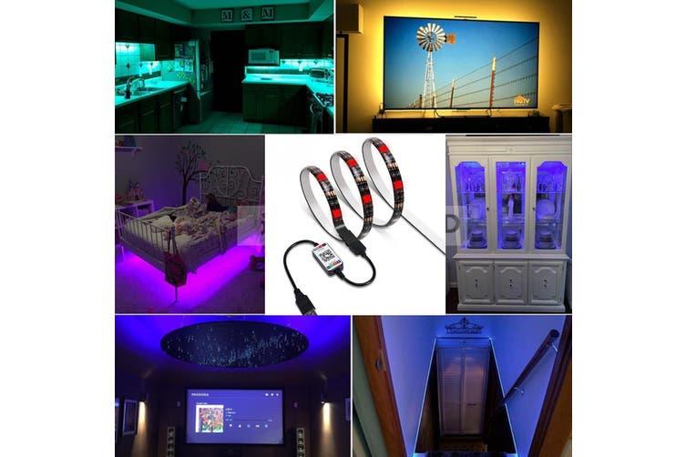 1-5m TV display decoration led strip light APP control + built-in voice control(multicolor,60LED/m 1m)