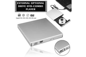 USB2.0 External Drives DVD Combo CD-RW ROM Burner Drive for PC Mac Laptop