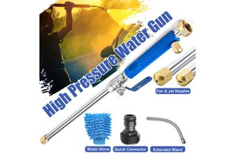 High Pressure Power Washer Sprayer Nozzle Water Hose Wand Jet Home Garden(Style B (6pcs))
