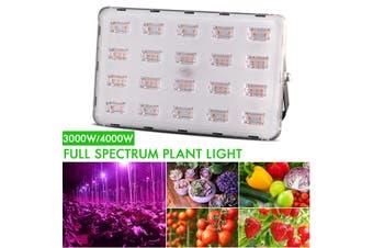 220V 3000W/4000W Plant Grow Light lamp Hydroponic Full Spectrum Flower Veg Bloom 20/40 LEDs(40LEDs 4000W)