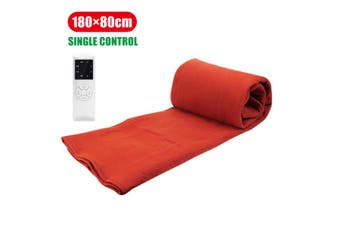 220V Electric Blanket Electric Heated Blanket Heater Double Body Warmer Heated Mattress Thermostat Electric Heating Blanket Pad(red,POA4017968)