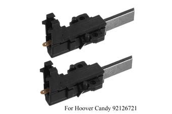 2x Washing Machine Carbon Brushes For Candy Hoover 92126721 Bosch Bauknecht(1 pair)