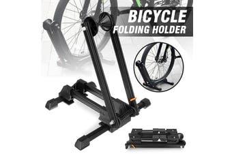 """Bike Stand Adjustable Floor Parking Rack Bicycle Storage Folding Holder 16-29""""(black)"""