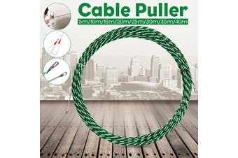 5mm 8 Sizes Cable Puller Fiberglass Wire Cable Puller Electrical Tool Fish Tape