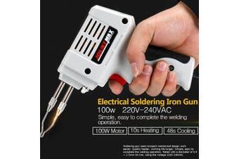 100W 220V-240V Electrical Soldering Iron Fast Electric Welding Torch Tool Machine(EU Plug)