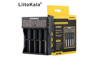 Lii-402 Smart Battery Charger USB /Output For A AA AAA 18650 26650 26500 SC Size