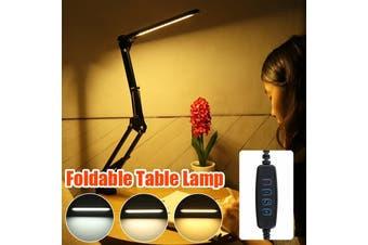 56LED USB Charged Desk Lamp Work Reading Adjustable Folding Clip-on Table Light Office Home Room Bedroom Lamp Beside Lamp Night Light