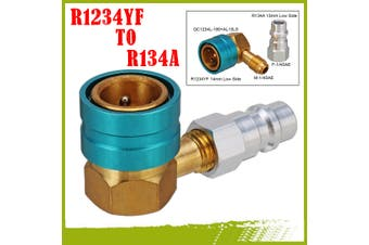 R1234YF To R134a Low Side Quick Coupler Angle Head Connector Car Air Conditioner(Quick Coupler)