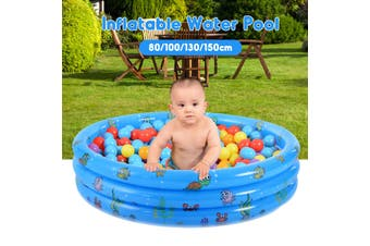 Portable Inflatable Swimming Water Pool Kids Children Home Use With Air Pump(130x40cm 51.18x15.74inches)