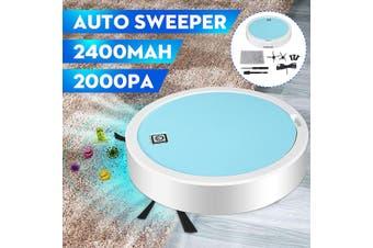 USB Automatic Robot Silent Smart Vacuum Cleaner Robotic Floor Sweep Mop Broom(High version- 2400mAh 2000pa)