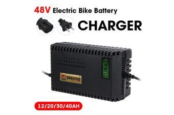 48V 12AH/ 20AH/ 30AH/ 40AH Smart Electric Bike Scooter Lead Acid Battery Charger-48V20AH