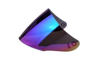Motorcycle Helmet Lens Visor Full Face Motocross Shield Sunscreen For KYT GP(multicolor,Low Quality)