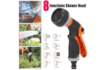 8 Functions Multifunctional Car Washing Water Gun Garden Plant Flower Pressure Sprayer