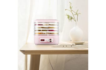 Food Dehydrator Machine Professional Electric Multi-Tier Food Preserver for Meat or Beef Fruit Vegetable Dryer