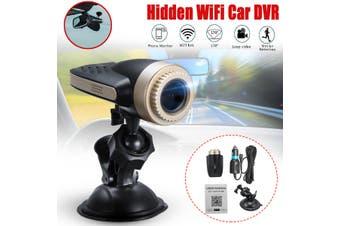 1080P Hidden Wifi Car DVR Camera Video Recorder Dual Lens Dash Cam APP AU