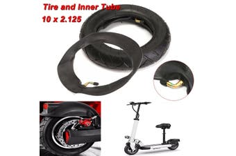 """10 x 2.125"""" Black Rubber Tire & Inner Tube for Electric Scooter Inner Tube Self Balancing Scooter Balance"""
