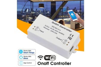 Smart Home WiFi Wireless Switch Module APP Remote Controller ABS VO Shell Socket