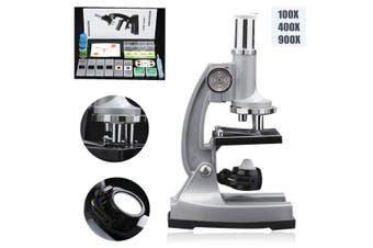 TF-L900 100x 400x 900x Educational LED Classic Biological Science Microscope Magnifier AU Stationary Learning Tool
