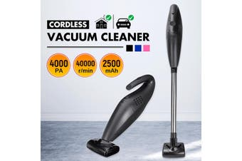 2-in-1 Stick Vacuum Cleaner Lightweight Handheld Cordless Bagless Vacuum Cleaner(black,Styles A)
