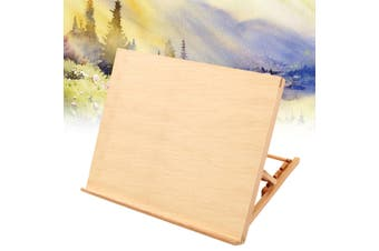 French TableTop Easel Sketch Wood Stand Adjustable Artist Drawing Board Painting