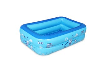 1.2M 2/3 Layer Large Outdoor Inflatable Children Paddling Baby Water Play Swimming (Double layer)