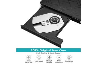 USB Type - A & Type-C drive external DVD/CD drive