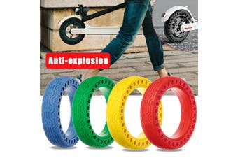 Non-Pneumatic Wheel Solid Replacement Tire For Xiaomi M365 -Red(blue,1Pc)