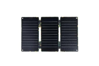 Portable 20W/45W Solar Panels 5V Folding Solar Cells Sun Power Charger Mobile Power Bank for Phone Battery USB Port Outdoor(camouflage,45W)