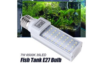 7W 6500K E27 Bulb Fish Tank 35LED Bulb Bright Light for Aquarium Replacement