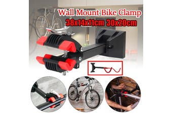 Convenient And Practical Wall Rack Bicycle Frame Can Display And Save Space(redblack,30x20cm)